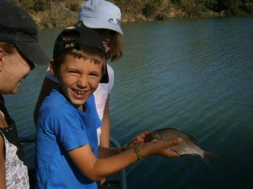 la joie de la pêche