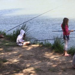 pêche au cou