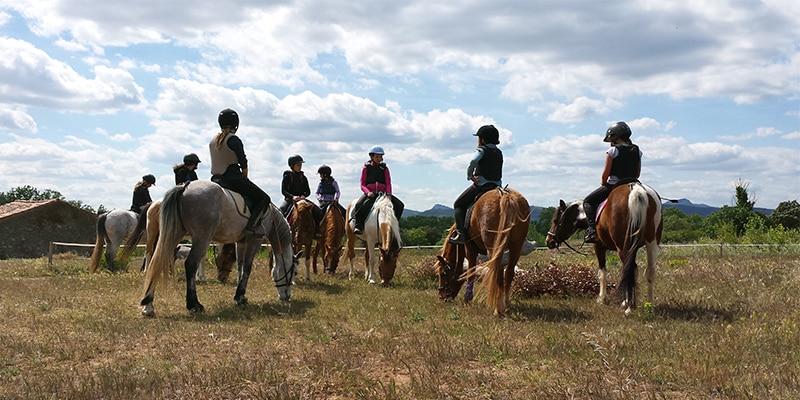 Séjour équitation à Toussaint
