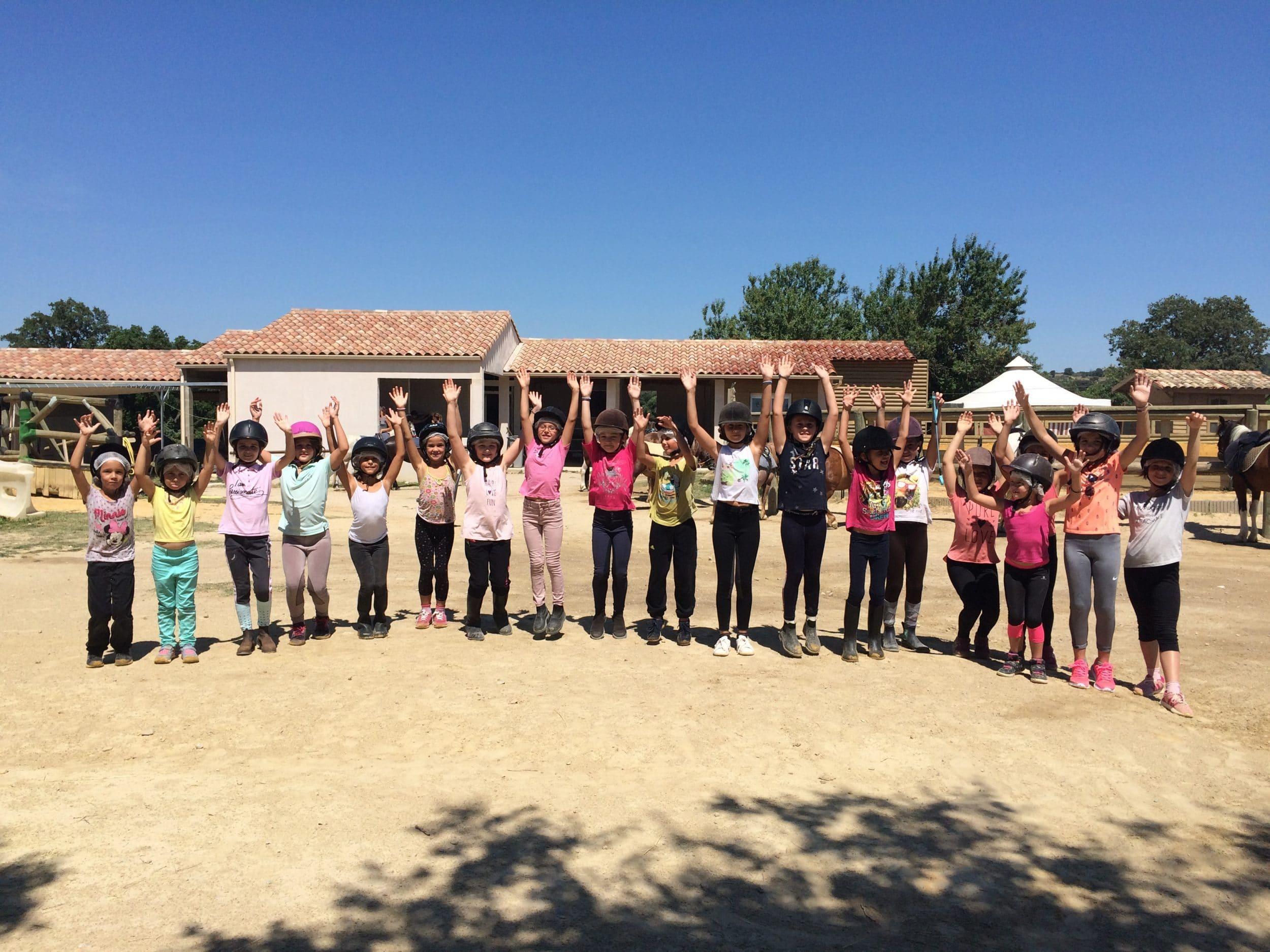 club équitation vacances dans l'Hérault