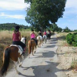 ballade à cheval centre équestre Hérault