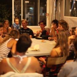 Réunion animateurs centre de vacances Hérault