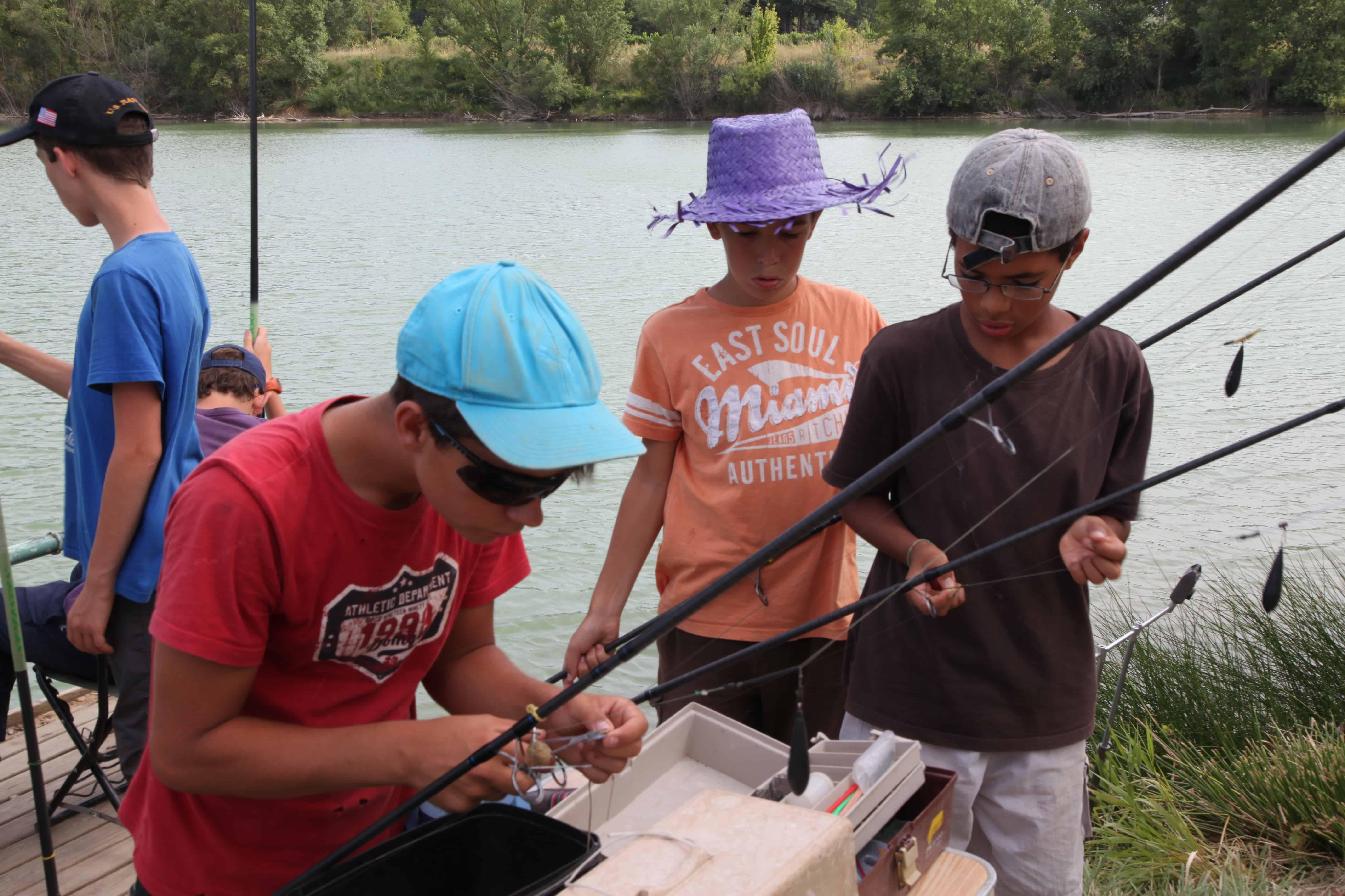 séjour pêche ccolonie de vacances languedoc roussillon
