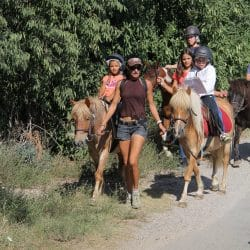 randonnée à cheval au centre équestre Gignac