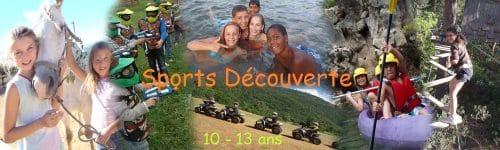 Sport découverte 10 13 nommé