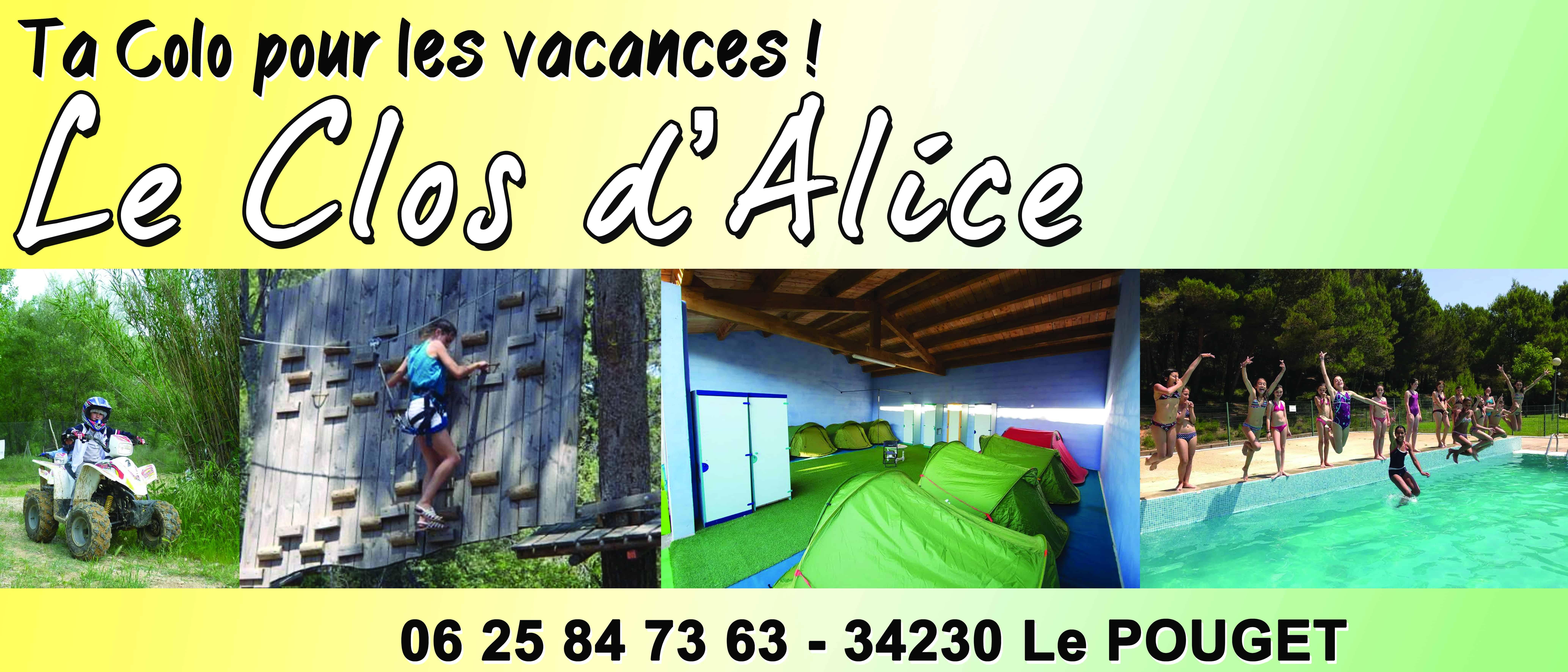 Le clos d'Alice Centre VACANCES2 Jaune et vert