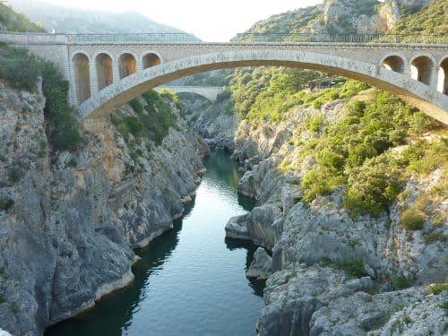 Sortie scolaires dans l'Hérault pont du diable