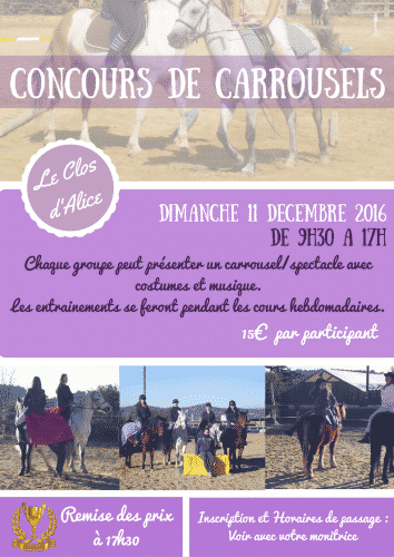 concours de carrousels