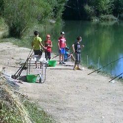 colonie de vacances pêche dans proche Montepllier