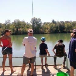 activité pêche au Clos d'Alice