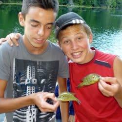 pêche ados au Clos d'Alice