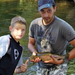 améliorer technique de pêche en centre de vacances Hérault
