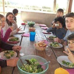 Repas centre de vacances Hérault