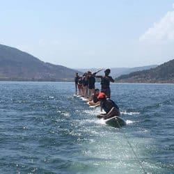 activités nautiques en centre de vacances