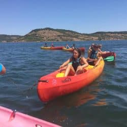 canoe en centre de vacances Hérault