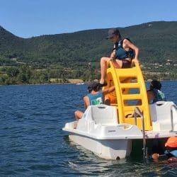 activités nautiques en centre de vacances Hérault