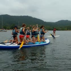 activités nautiques au Clos d'Alice