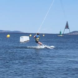 kite surf en colonie de vacances dans l'Hérault