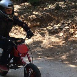 moto en colonie de vacances au Clos d'Alice