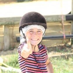 équitation colo au Clos d'Alice Hérault
