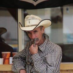 cowboy au centre équestre du Pouget
