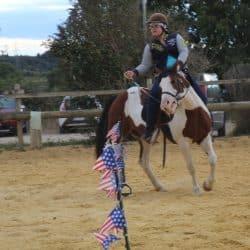 activité cheval centre de vacances Pouget