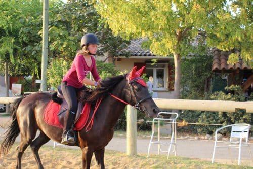 initiation equitation ados Hérault