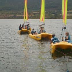 Animations nautiques au lac du Salagou