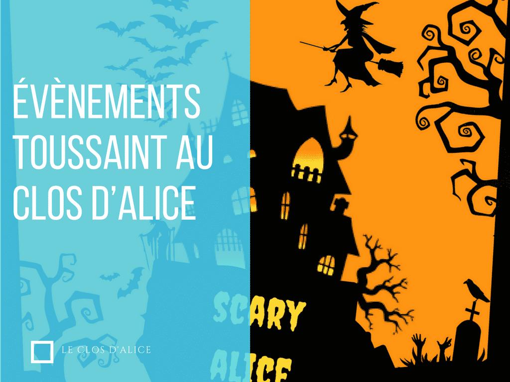 évènements vacances à ne pas rater au Clos d'Alice