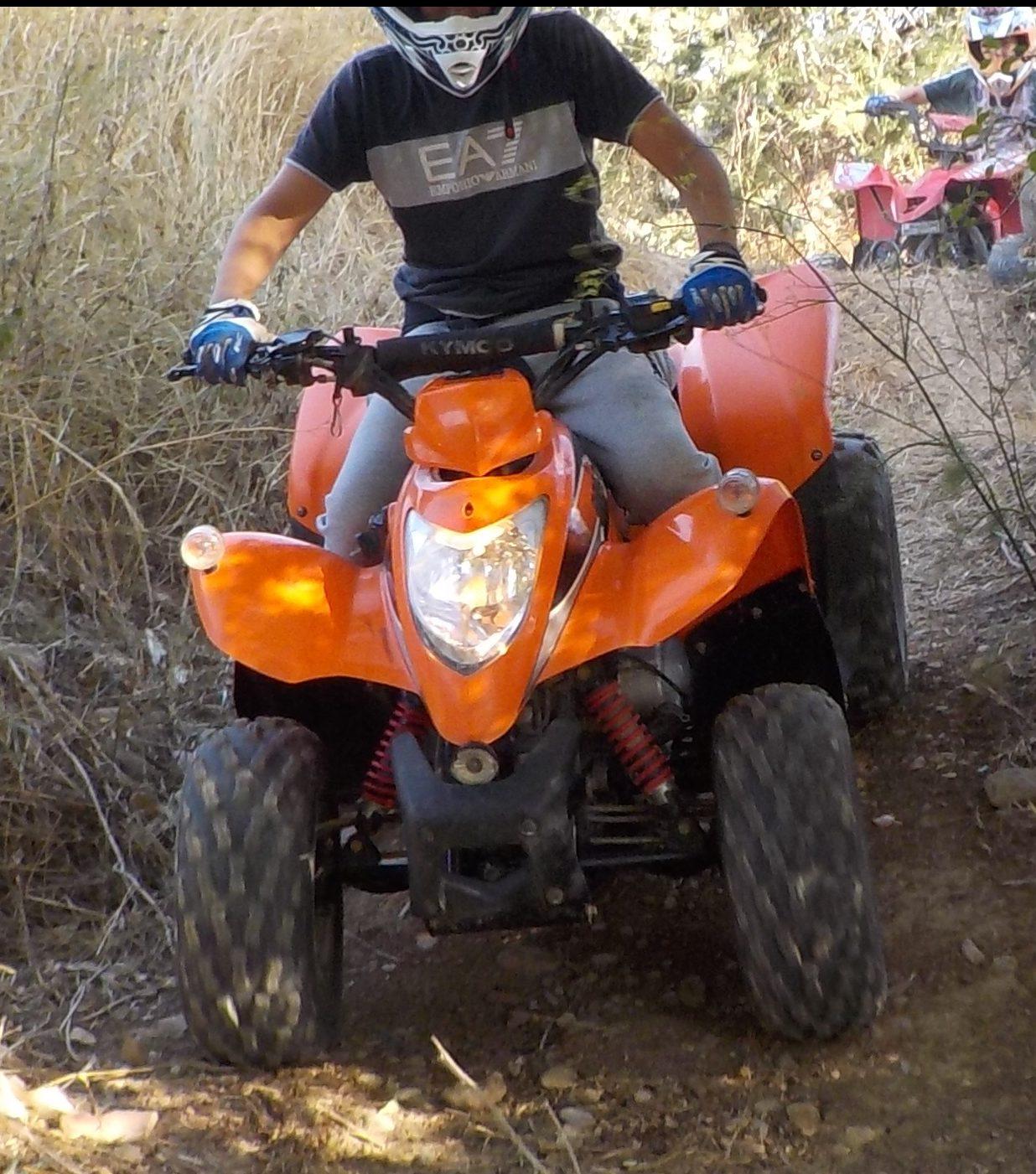 activité quad pour ados 13 ans Hérault