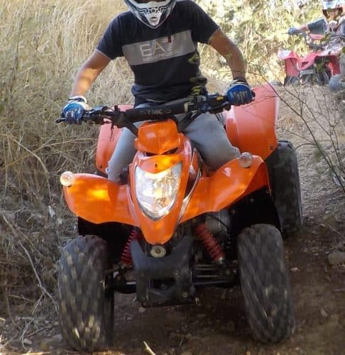 activité quad ados 13 ans Hérault