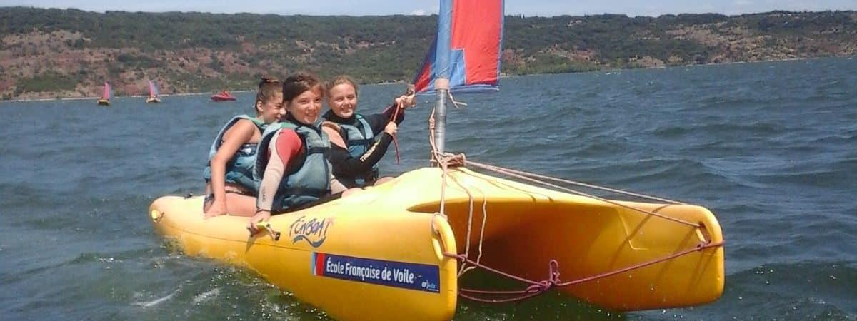 Activité bateau Clos d'Alice au Salagou