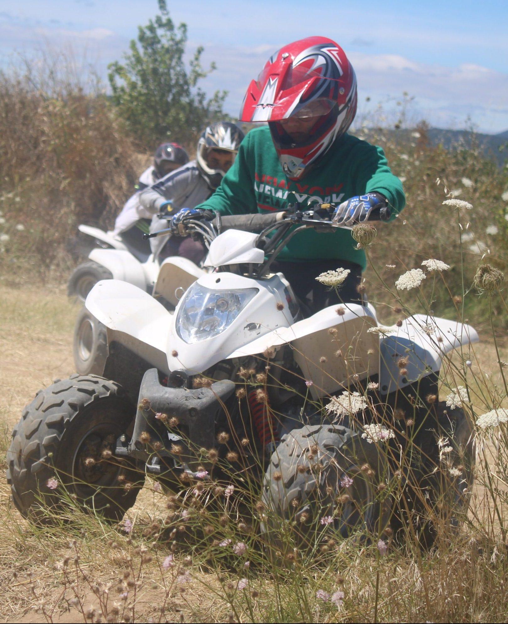 Moto-cross et Quad colonie de vacances