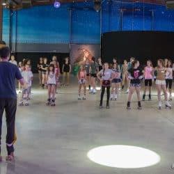Roller dance en colonie de vacances Hérault