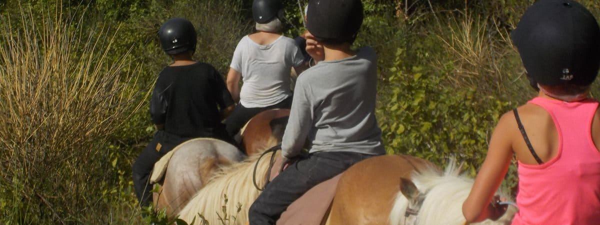 balade à cheval pour ados Hérault
