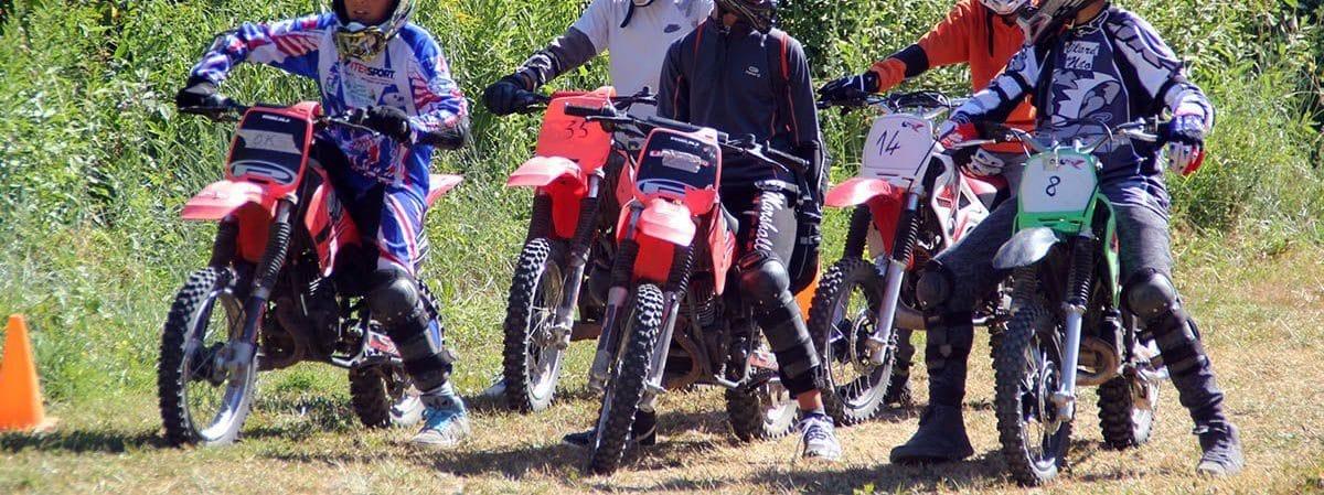 Séjour moto pour Ado 14 à 17 ans