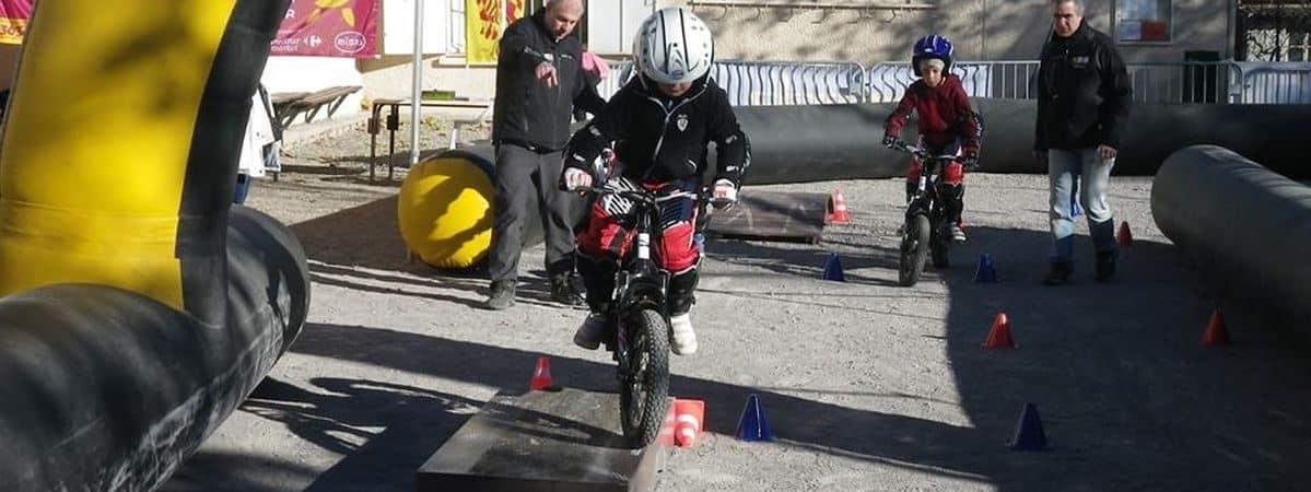 séjour moto junior Hérault