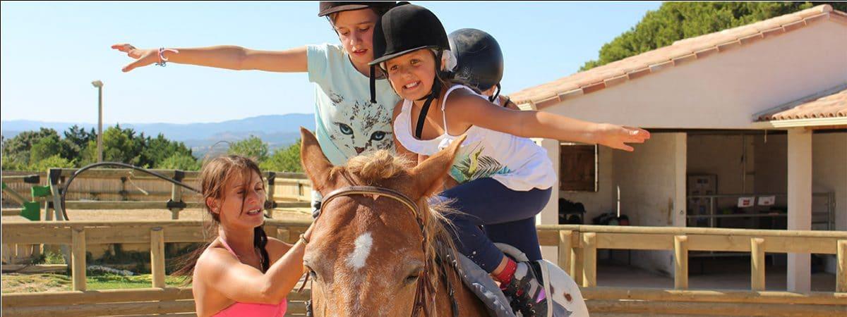 séjour équitation enfant Hérault
