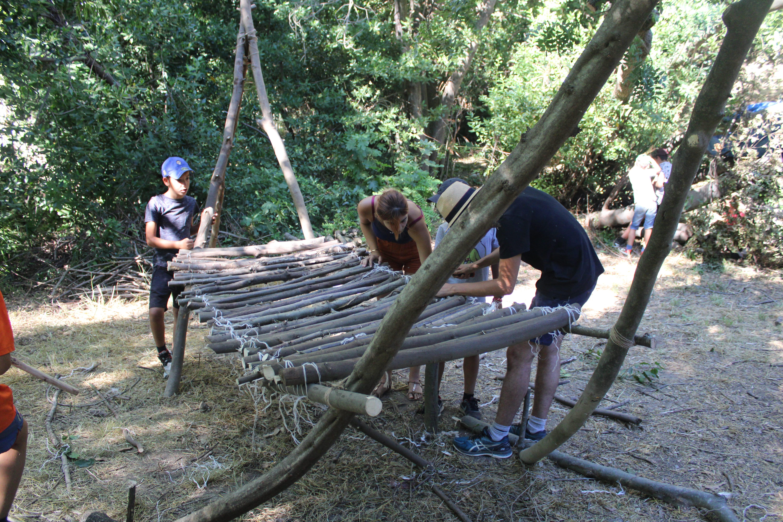 Camp Aventure au Pouget Hérault