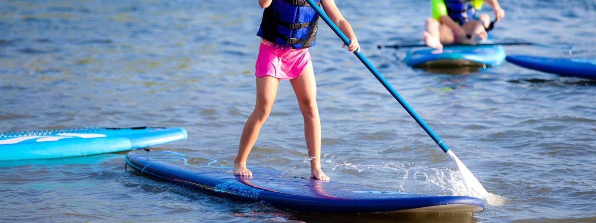 Paddle séjour enfant Lac Salagou