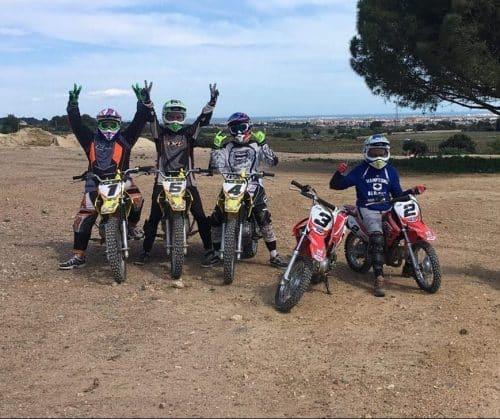 moto cross pour ado au Clos d'Alice