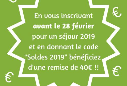 Avantage inscription centre de vacances Hérault