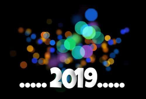 Meilleurs voeux 2019 de la part du clos d'alice