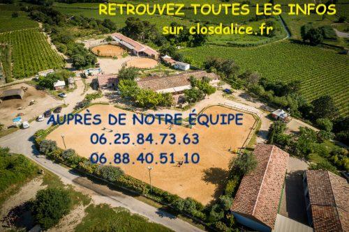 Informations centre de vacances dans l'Hérault le clos d'Alice